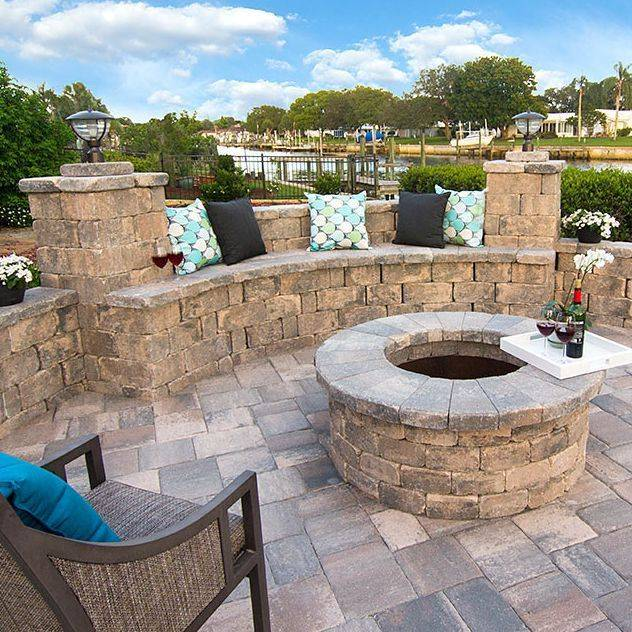 paver benches
